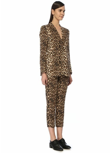 The Kooples Ceket Leopar